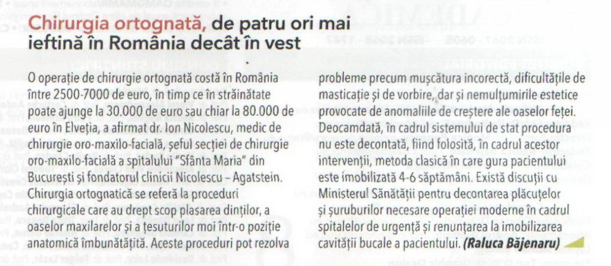 Revista Medica Academica Ediția decembrie 2015 – ianuarie 2016