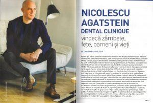 Revista BIZ - Nicolescu Agatstein - NAOS - clinica dentara